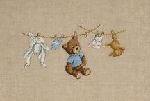 Cross Stitch Children & Babies