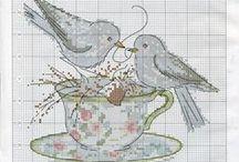 Cross Stitch Tea