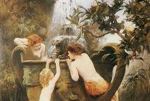Pre-Raphaelite / Pre-Raphaelite art. / by Jenna