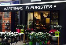 Flower shop / magasin de fleurs / Fleuristes, boutiques de fleurs ; Bucoliques, modernes ou jardin