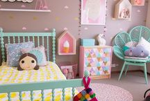 HOME  |  Girls room / I'm such a girl mommy - and decorating their room is another one of the perks