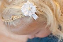 KIDS  |  Toddler hairstyles / Because some phases of toddler hair can be a nightmare!