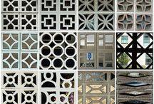 Divisórias / Paineis / Biombos / Imagens inspiradoras de Divisórias para diversos ambientes. Cores, materiais e texturas...