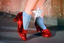 The wizard of Oz / Tap your heels three times.