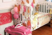 Nursery Ideas / Whether you're welcoming a boy or girl, there are plenty of great ideas for how to decorate a nursery!