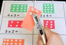 Math Ideas / Math (measurement and integer) activities.   / by Darci Harland