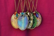 Necklaces I make!