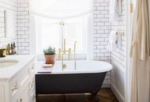 Dream Home / Dream House(s) / Eclectic / Contemporary / Victorian / Shabby-Chic / CLOSETS / Home Office / All White Everything