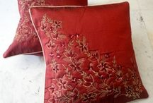 Nice colors cushion/pillows / by Helen