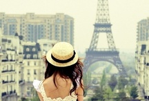 Paris, France / Let's jump through the city of love and enjoy a perfect french coffee in an original french café.