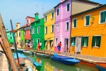 Colorful - places and art
