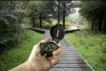 Analogical Travel Tools / Traveling around the world is a physical act. Therefore analogical tools are useful!