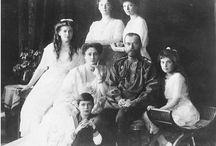 Romanov History / Romanov Dynasty: 1613-1917 Nicholas II: 1868-1918 Alexandra:  1872-1918 Olga: 1895-1918 Tatiana: 1897-1918 Maria: 1899-1918 Anastasia: 1901-1918 Alexei: 1904-1918 / by Ellie Flanders
