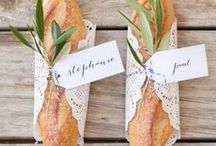 | TASTY TREATS | / Love goes through the stomach. Get inspired for your wedding food- and show your guests the love.
