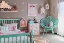 A Room for Kids / Bedrooms for Chillens and Babes / by Jessica Gunning