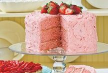 let them eat cake / When all else fails, dive into a multi-layer confection of cake and frosting. See, everything is all right with the world!