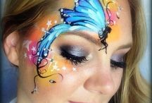 Beauty - Painted Faces / Face painting inspiration.