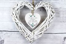 Forget Me Not Range / A simple and delicate design, perfect for a personalised gift for occasions such as Mothers Day, Birthdays and Valentines.