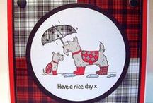 Scottie Dogs / Cards made using our 'Scottie Dogs' stamp set