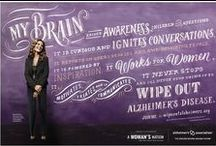 My Brain Movement / The My Brain Movement calls on 1 million women to use their amazing brains to help wipe out Alzheimer's disease — one of the greatest threats to women's health.