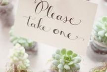 | WEDDING FAVORS | / by Unielle Couture