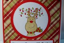 Christmas Lights / Cards designed using our 'Christmas Lights' stamp
