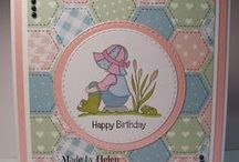 Dinkies Welly Girl / Cards made with our Dinkies Welly Girl stamp
