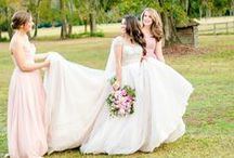 AAP | Bridal Party / Color, poses, and style inspiration for your bridal party