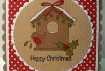 Dinkies Robin Birdhouse / Cards made using our 'DInkies Robin' birdhouse stamp