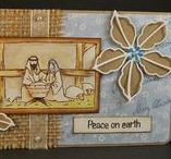 Dinkies Nativity / Cards made using our 'Dinkies Nativity' stamp