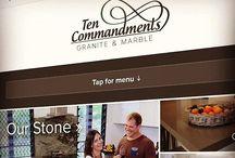 Websites / Some screenshots of websites we've launched around Rockhampton