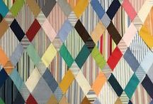 QUILTS / Collections of quilts that caught my attention either by the pattern, design or colors.