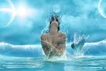 <º))))><Mermaids<º))))>< / by ♕Karin♕