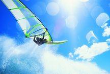 Wind surfing / いやーすごい。