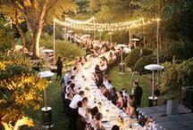 Outdoor wedding / Inspiration