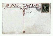pošli to ďalej / DIY - postcards - scrapbooking (urob si sám - pohľadnice - kniha výstrižkov)