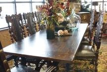 Dining Room Tables and Chairs / Carter's Furniture, Midland, Texas  432-682-2843 http://www.cartersfurnituremidland.com/