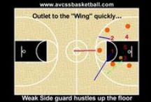 Transition Offense / Fast Breaks / Primary and Secondary Breaks / Video clips, handouts, information, and coaching tips about Transition Offenses (fast break offenses) used in youth basketball. Learn the basics, teach your players to succeed, and have some fun.