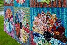 ANNA MARIA HORNER / Quilts made from Anna Maria Horner's different collections of fabrics.