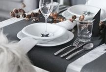 TABLE // SETTING / Be inspired by creative ways to decorate your table!