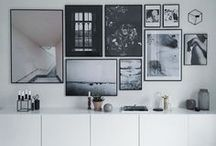 POSTER WALLS / There are many ways to create a cool poster wall. Here are some inspiration.