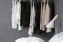 CLOSET / Wardrobe/closet inspiration