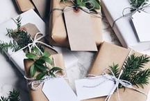 GIFTWRAPPING / Giftwrapping ideas