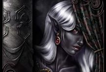 Elf ● Drow ● Female