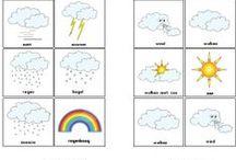 Wetter /Jahreszeiten/Kalender / by Silvia
