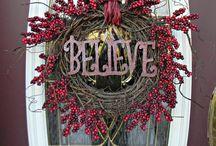 Wreath door / Wianki na drzwi