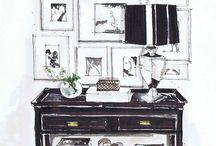 /Interior drawings