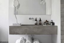 Calming bathrooms / Bathroom inspiration