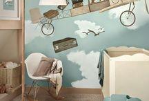 Cute little kidsroom / Kidsroom inspiration