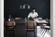 /Please sit / Dining area inspiration